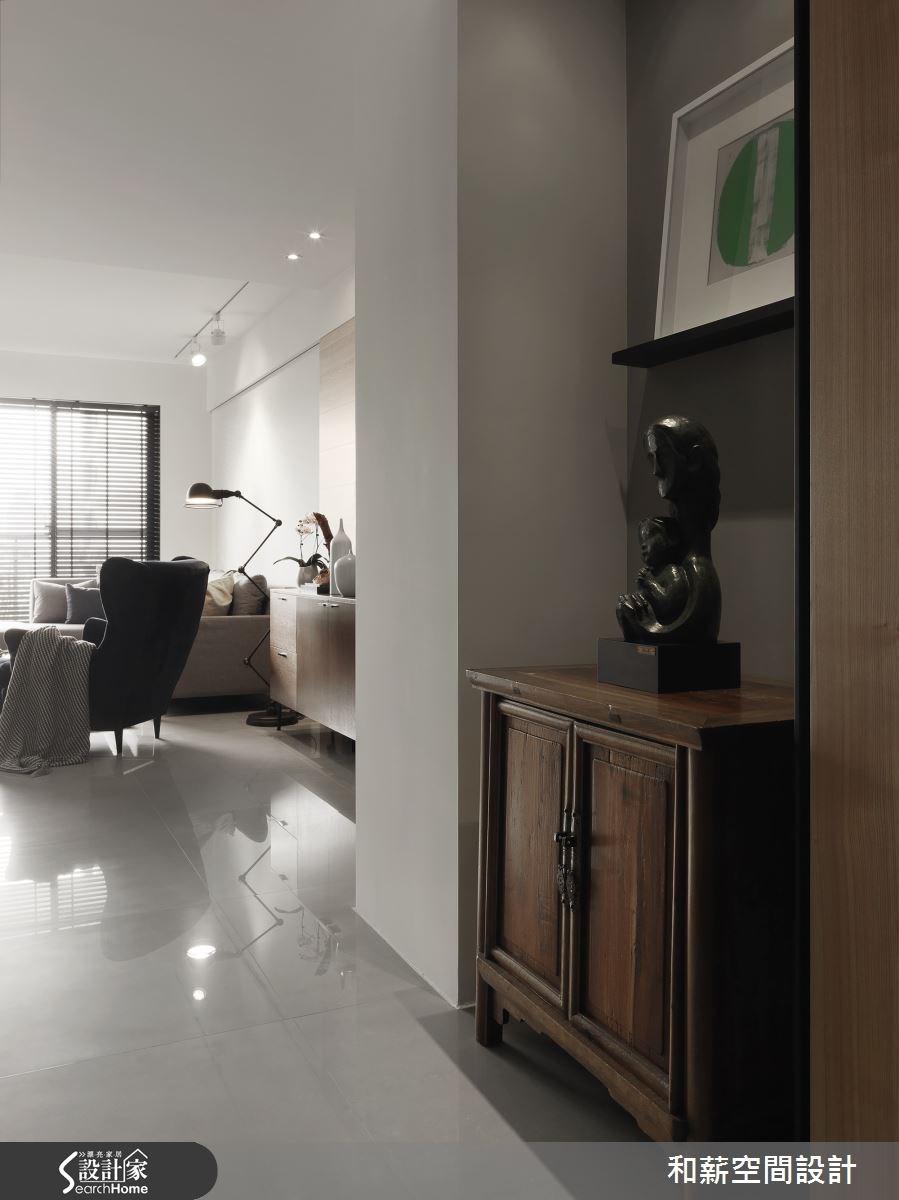 35坪新成屋(5年以下)_混搭風案例圖片_和薪室內裝修設計有限公司_和薪_11之2