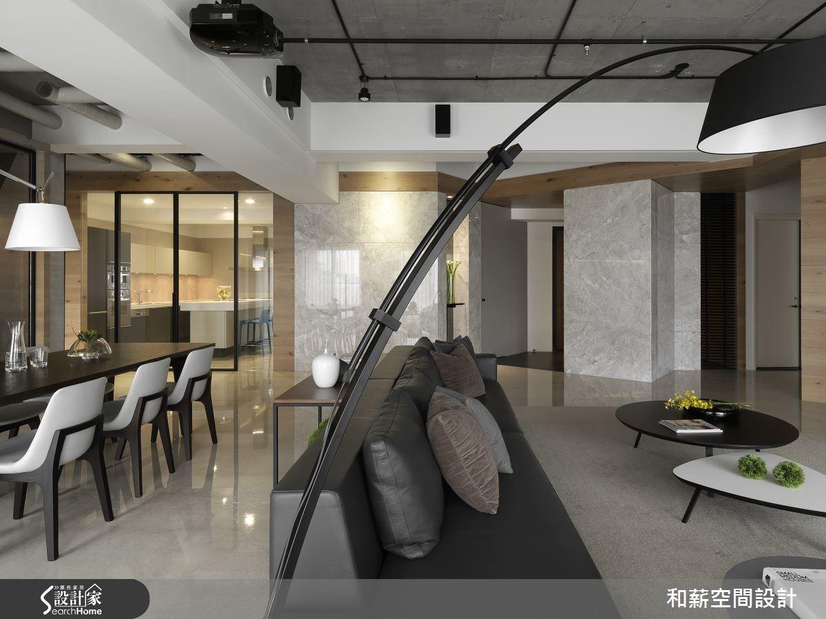 88坪新成屋(5年以下)_混搭風案例圖片_和薪室內裝修設計有限公司_和薪_12之6