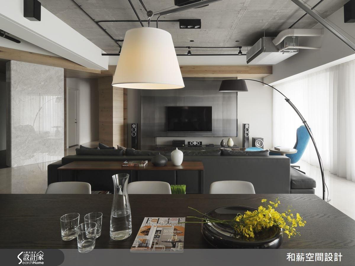 88坪新成屋(5年以下)_混搭風案例圖片_和薪室內裝修設計有限公司_和薪_12之7