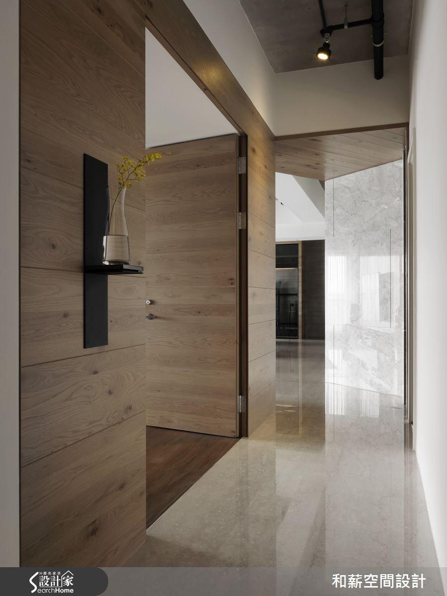 88坪新成屋(5年以下)_混搭風走廊案例圖片_和薪室內裝修設計有限公司_和薪_12之12