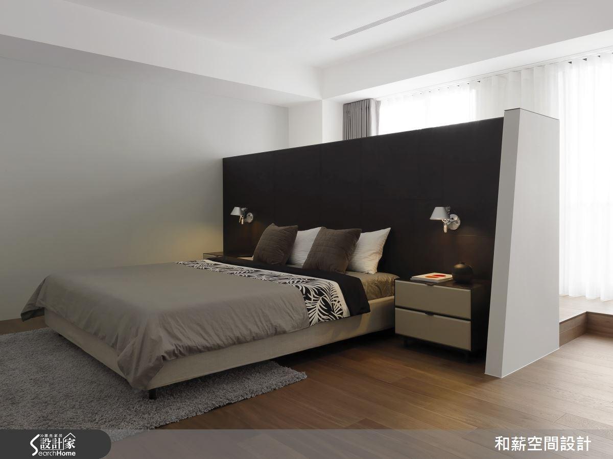 88坪新成屋(5年以下)_混搭風臥室案例圖片_和薪室內裝修設計有限公司_和薪_12之14