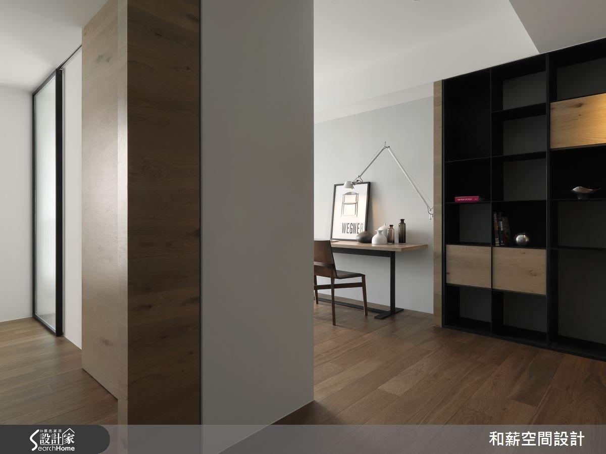 88坪新成屋(5年以下)_混搭風案例圖片_和薪室內裝修設計有限公司_和薪_12之16