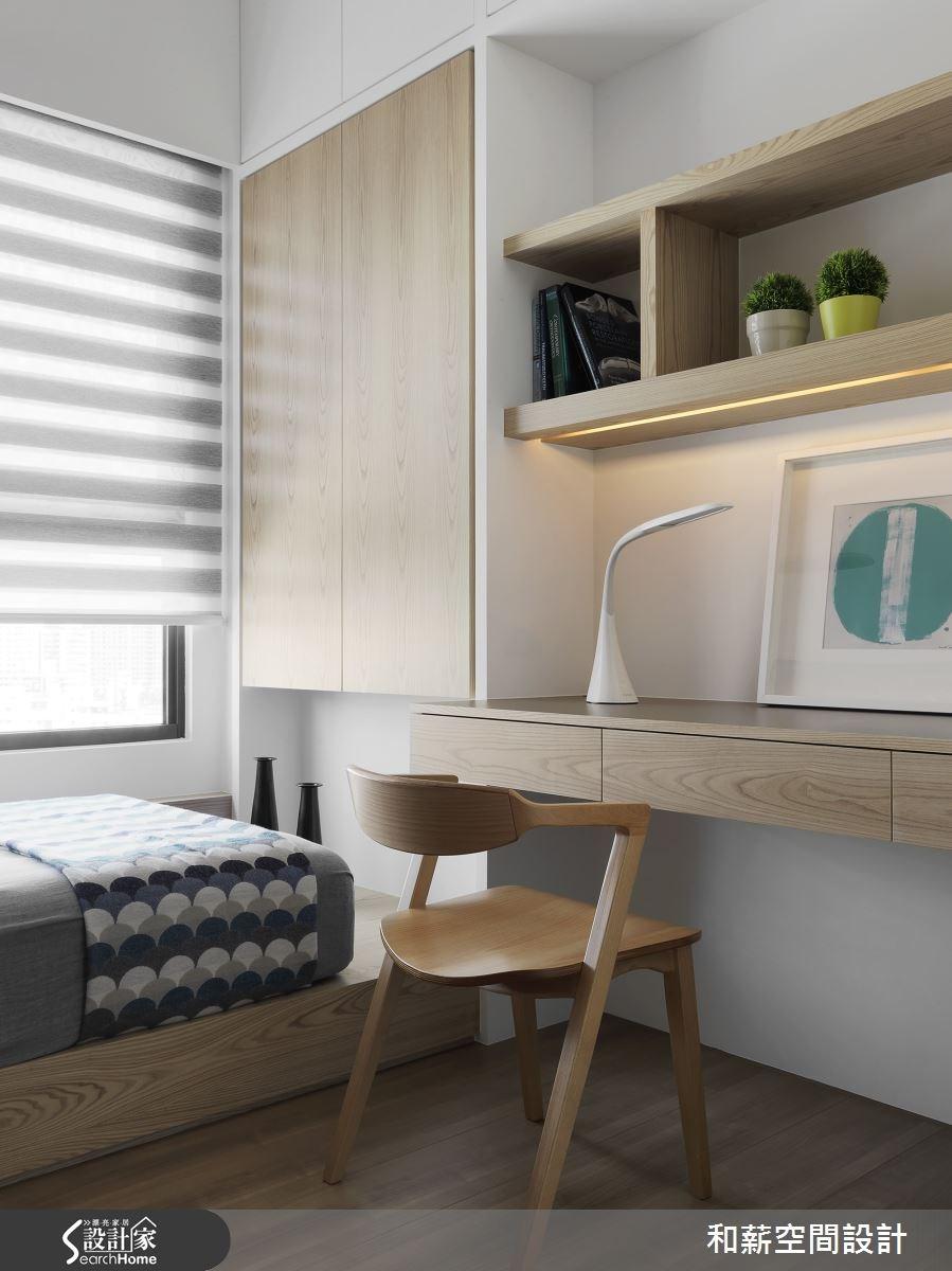 25坪新成屋(5年以下)_混搭風臥室案例圖片_和薪室內裝修設計有限公司_和薪_13之9