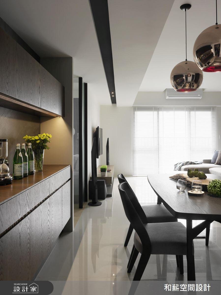 24坪預售屋_混搭風餐廳案例圖片_和薪室內裝修設計有限公司_和薪_17之3