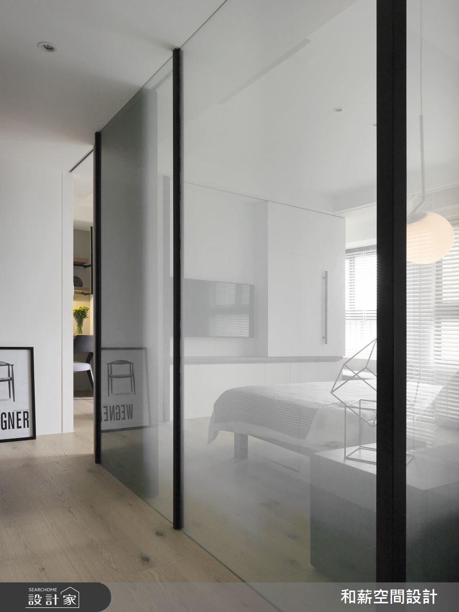 24坪預售屋_混搭風走廊案例圖片_和薪室內裝修設計有限公司_和薪_17之6