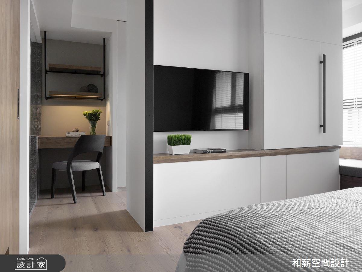 24坪預售屋_混搭風臥室案例圖片_和薪室內裝修設計有限公司_和薪_17之9