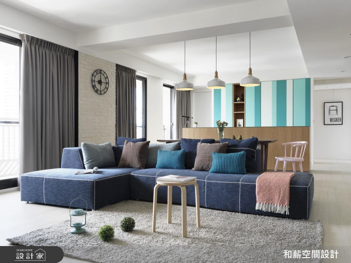 41坪中古屋(5~15年)_北歐風客廳案例圖片_和薪室內裝修設計有限公司_和薪_19之1