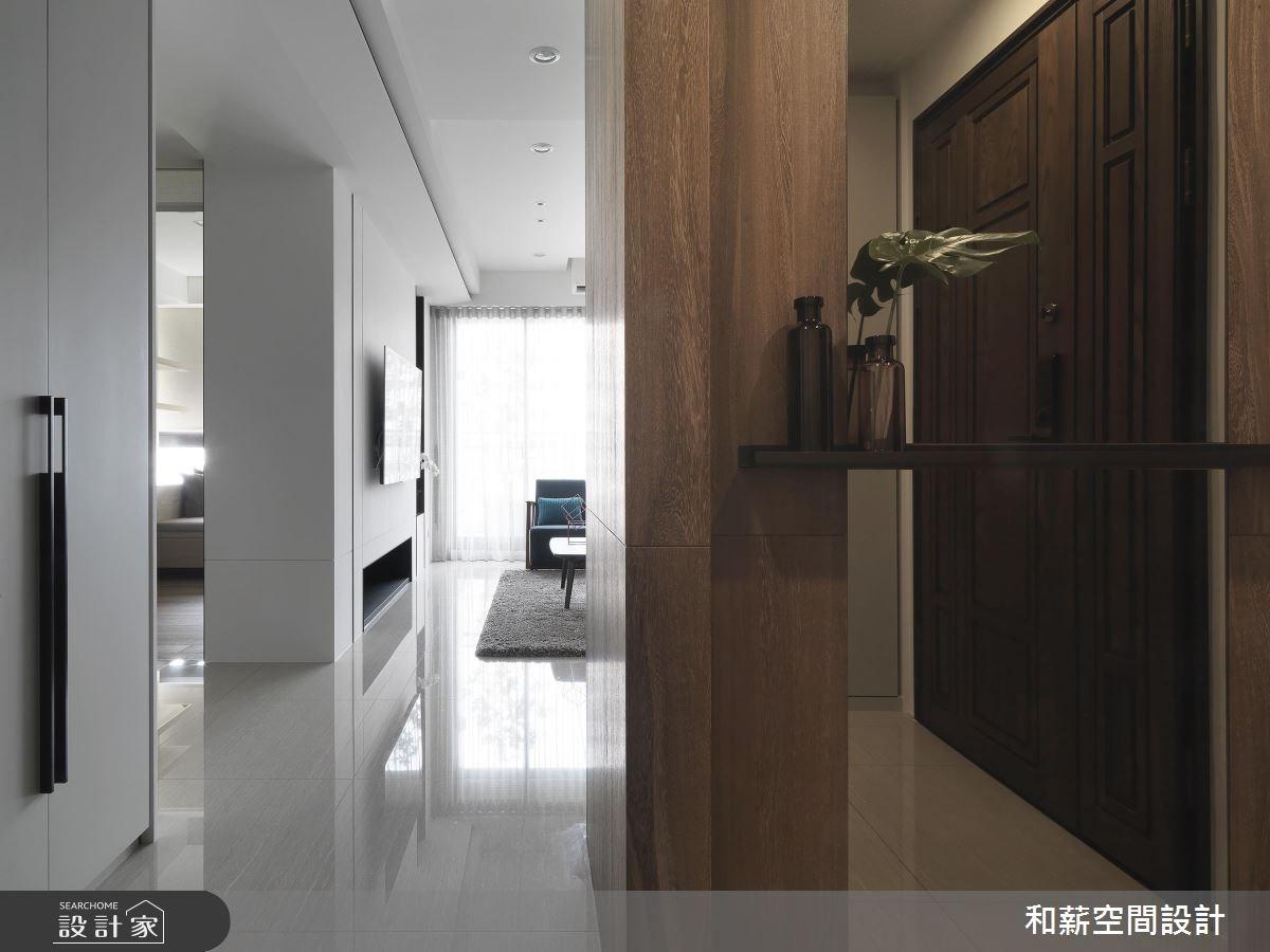 34坪預售屋_現代風玄關案例圖片_和薪室內裝修設計有限公司_和薪_21之1