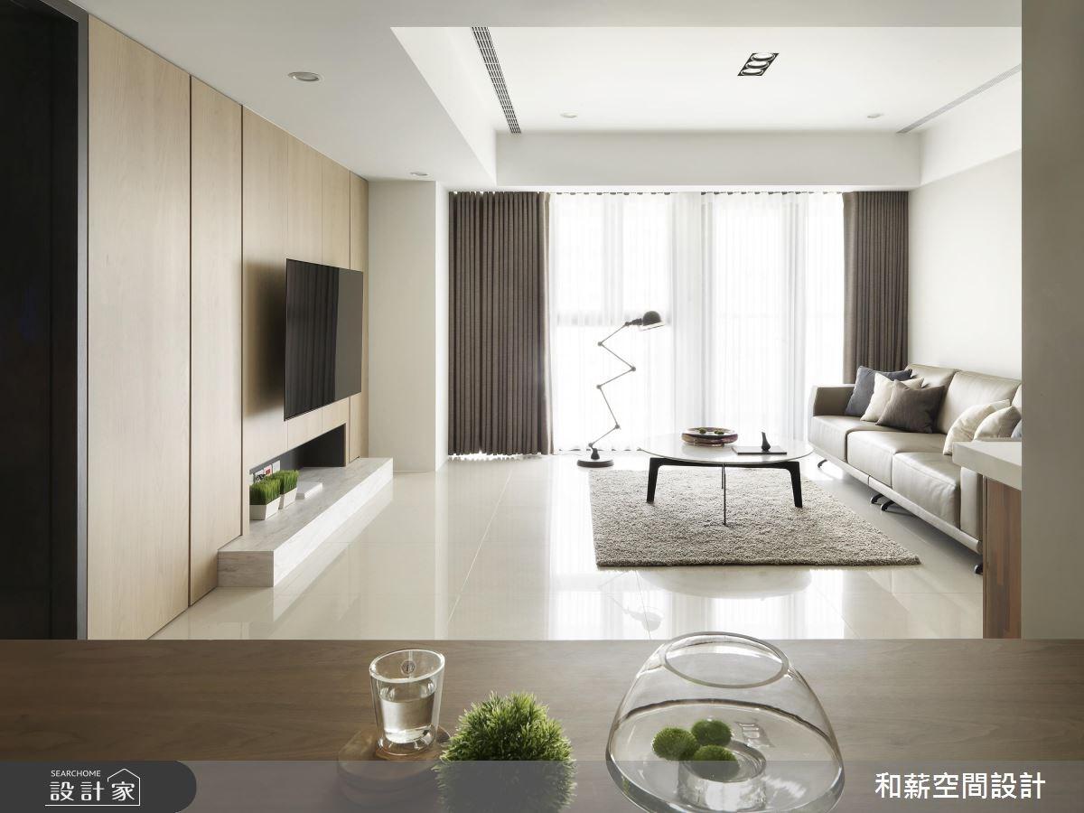 47坪新成屋(5年以下)_現代風客廳案例圖片_和薪室內裝修設計有限公司_和薪_22之4