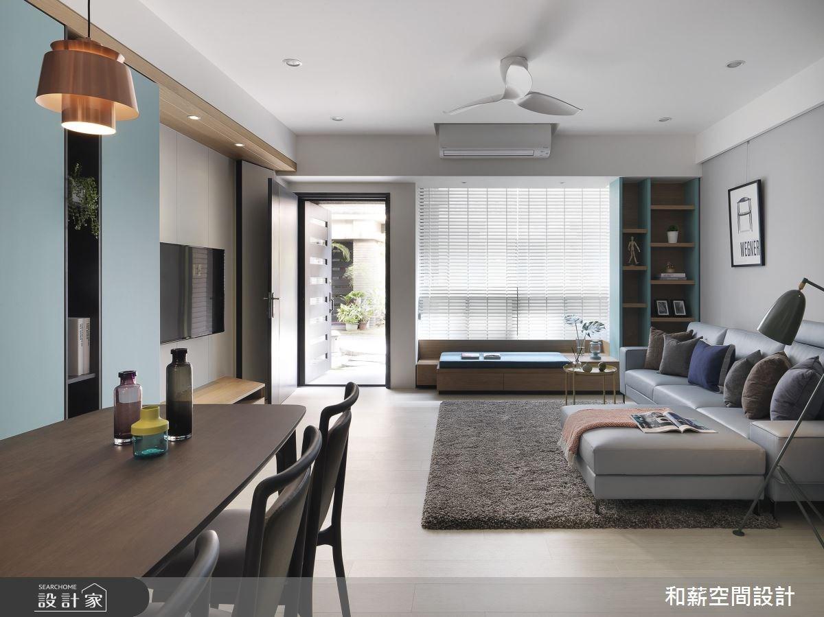 88坪老屋(16~30年)_現代風案例圖片_和薪室內裝修設計有限公司_和薪_23之6