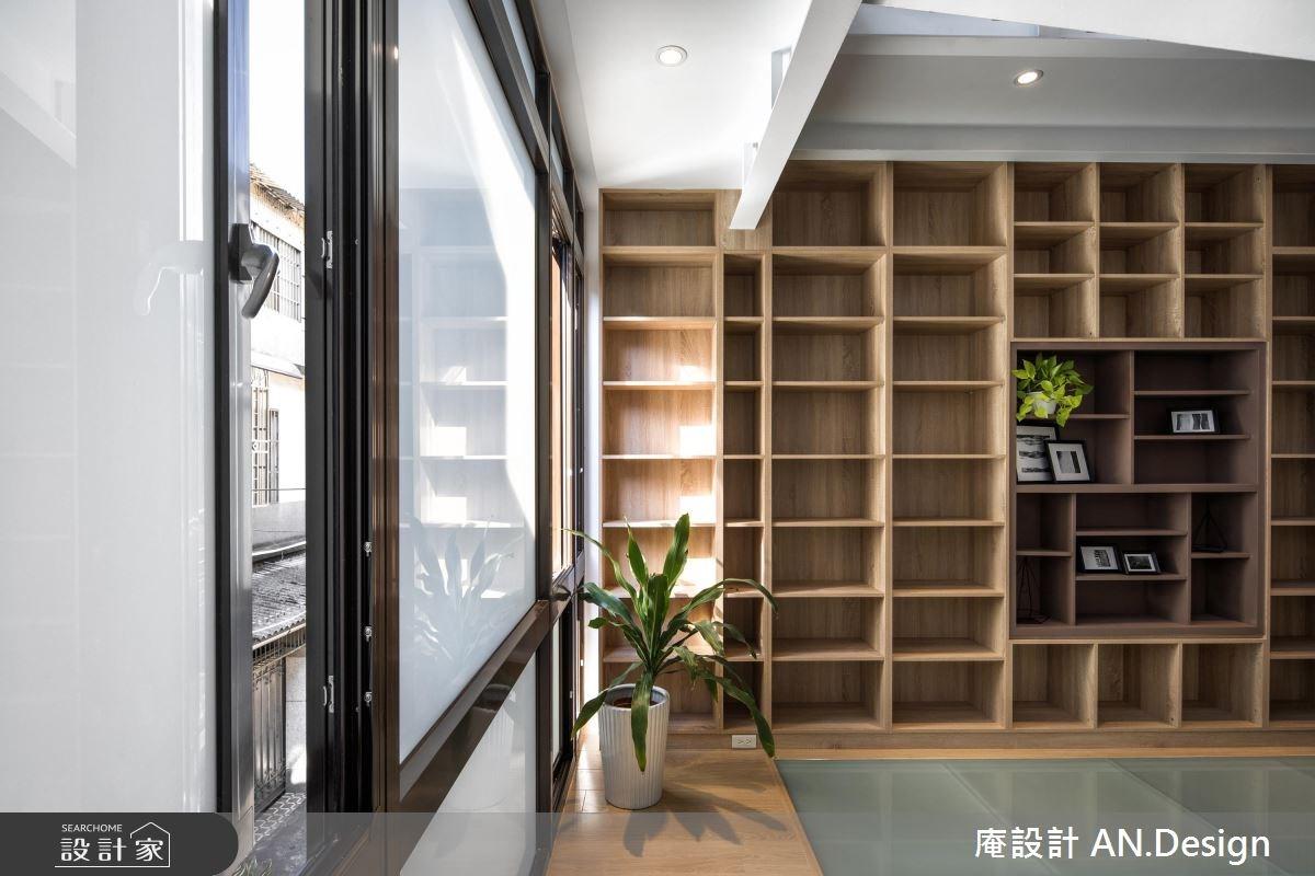 65坪老屋(16~30年)_北歐風樓梯案例圖片_庵設計店_庵設計_10之5