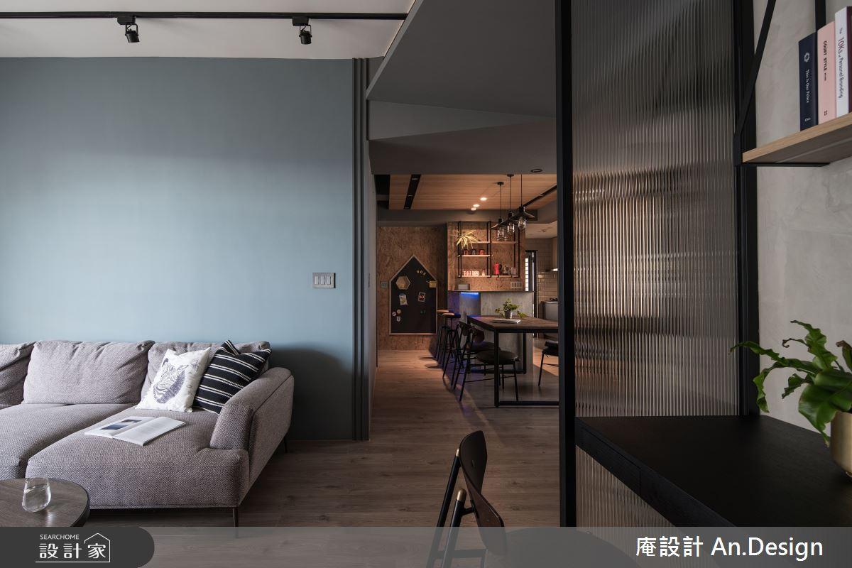 31坪中古屋(5~15年)_混搭風客廳案例圖片_庵設計店_庵設計_慢。生活之4