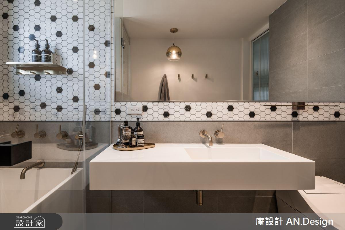 20坪新成屋(5年以下)_混搭風浴室案例圖片_庵設計店_庵設計_HYGGE之13