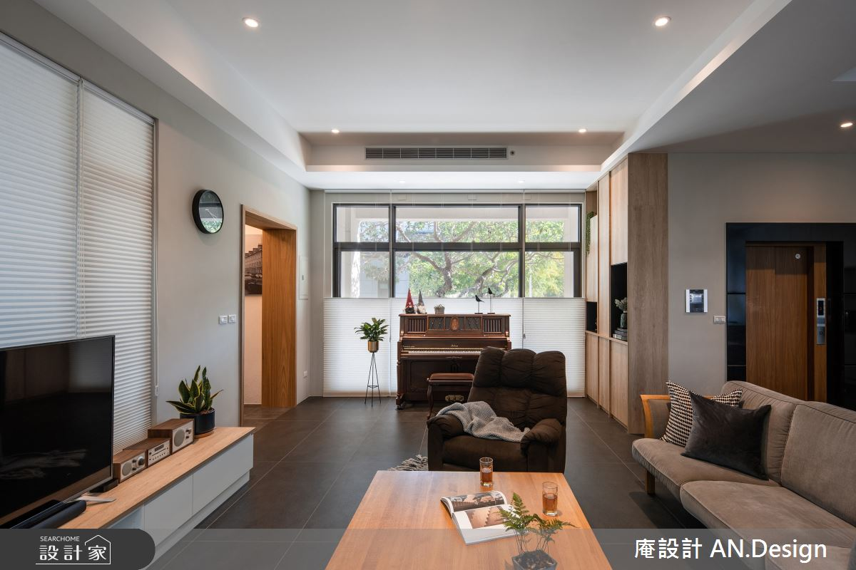 85坪中古屋(5~15年)_現代風案例圖片_庵設計店_庵設計_綠敘森聲之3