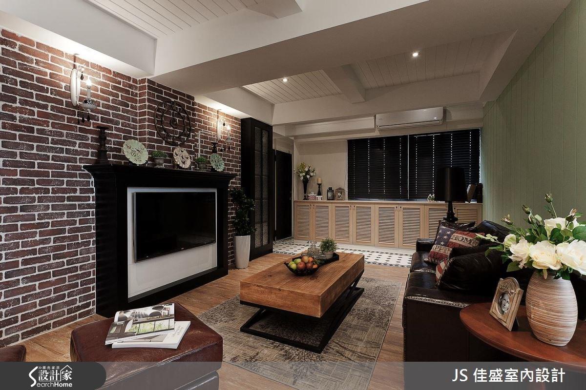 28坪老屋(16~30年)_美式風案例圖片_JS Design Studio 佳盛室內設計工程有限公司_佳盛_04之2