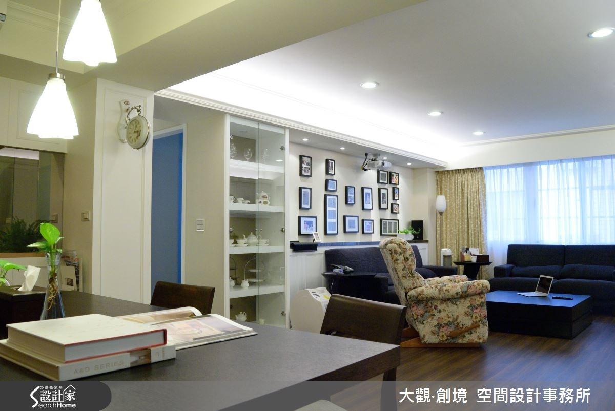 45坪老屋(16~30年)_美式風案例圖片_大觀‧創境  空間設計事務所_大觀‧創境_01之1