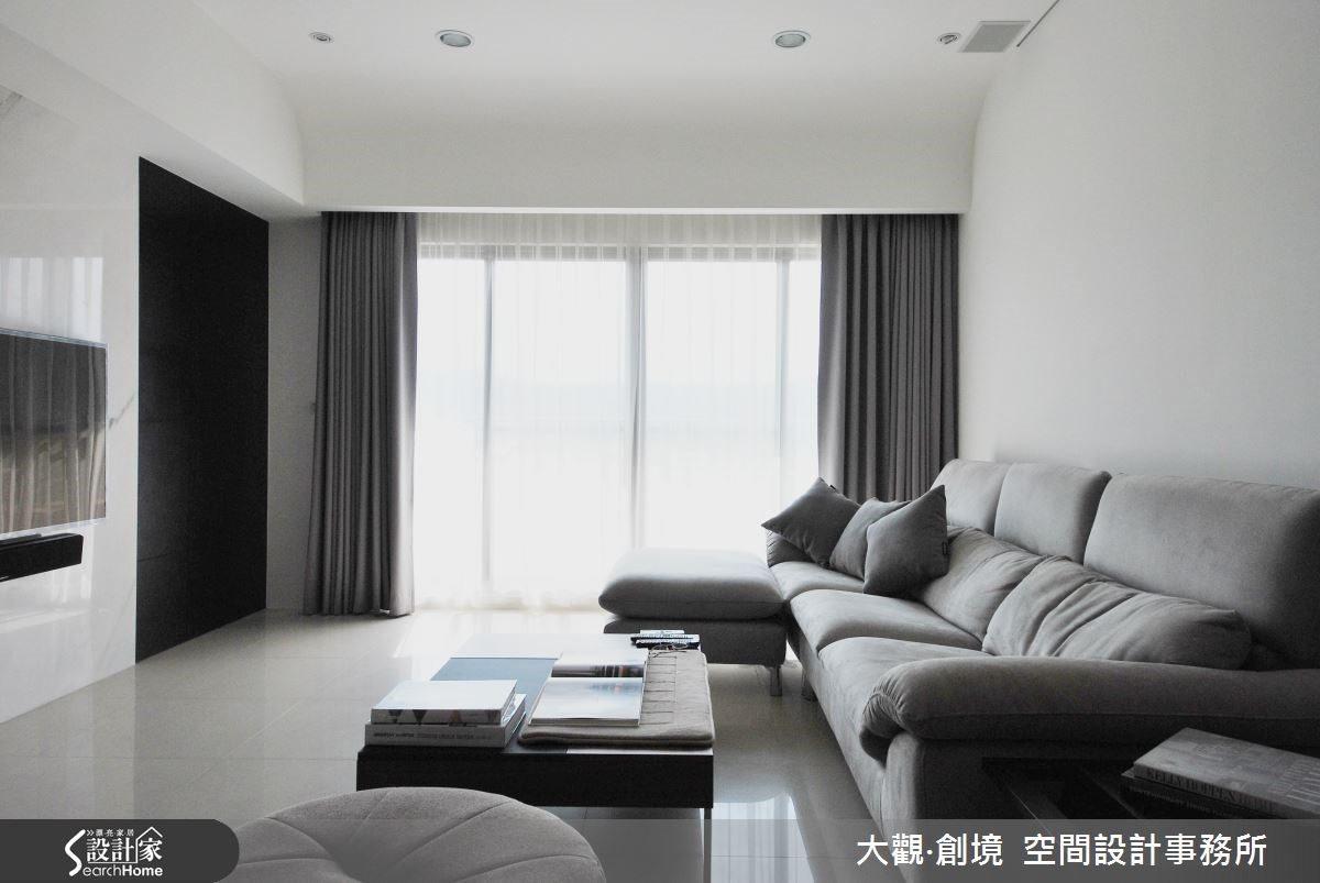 40坪新成屋(5年以下)_現代風案例圖片_大觀‧創境  空間設計事務所_大觀‧創境_03之4