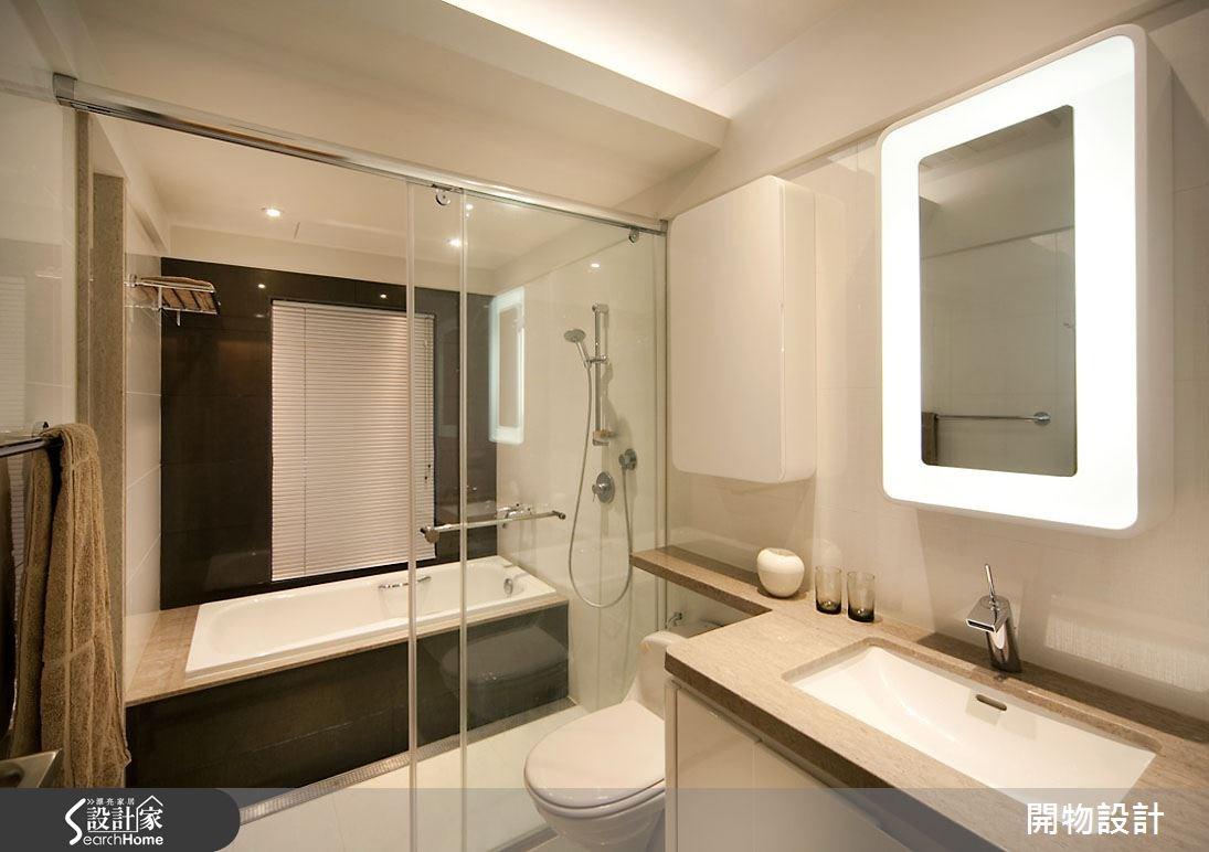 35坪老屋(16~30年)_現代風浴室案例圖片_開物設計_開物_08之9