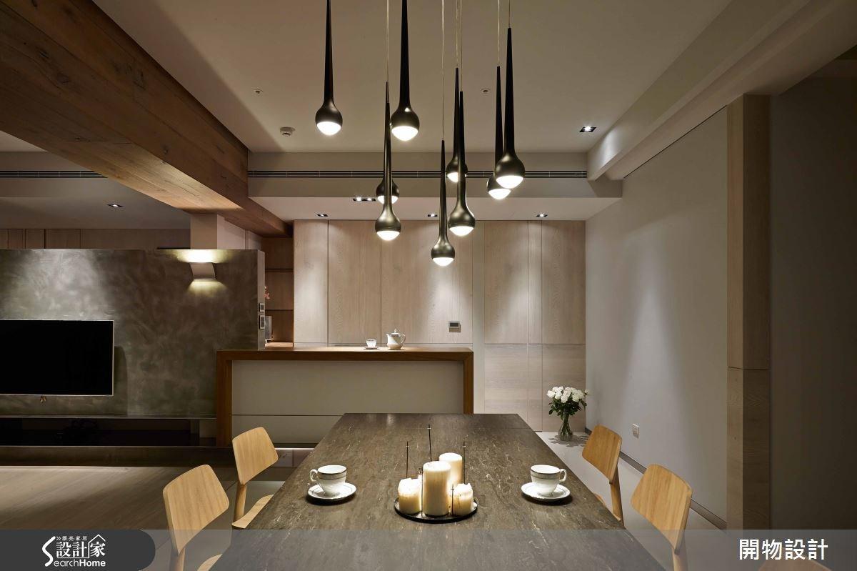 45坪新成屋(5年以下)_現代風餐廳案例圖片_開物設計_開物_19之5