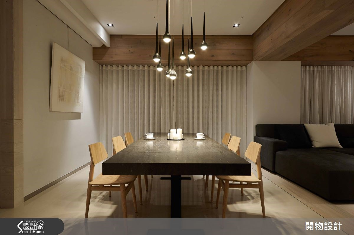 45坪新成屋(5年以下)_現代風餐廳案例圖片_開物設計_開物_19之3