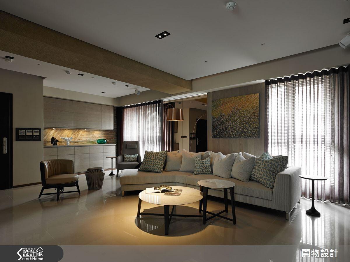 80坪新成屋(5年以下)_現代風客廳案例圖片_開物設計_開物_21之4