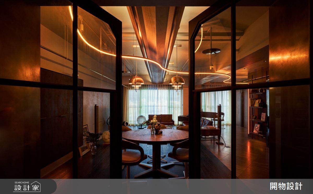 40坪新成屋(5年以下)_混搭風餐廳案例圖片_開物設計_開物_32之1