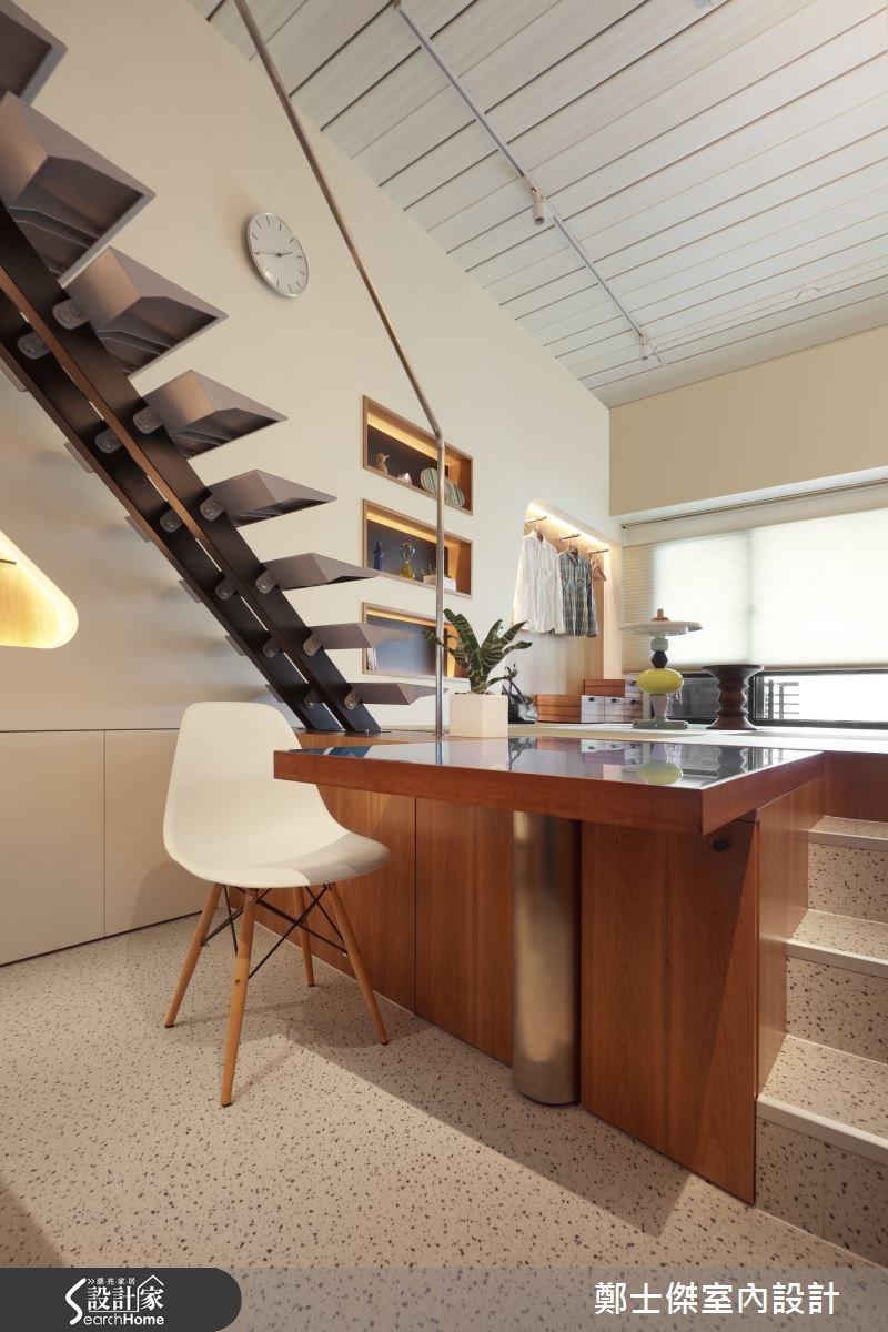 8坪新成屋(5年以下)_樓梯案例圖片_鄭士傑設計有限公司_鄭士傑_02之4