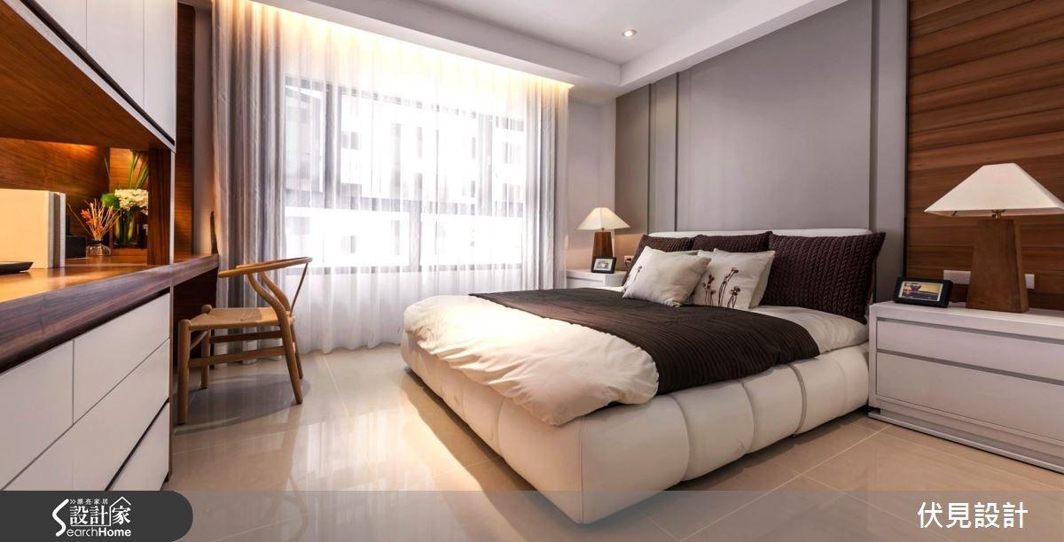 43坪新成屋(5年以下)_現代風臥室案例圖片_伏見設計事業有限公司_伏見_10之11