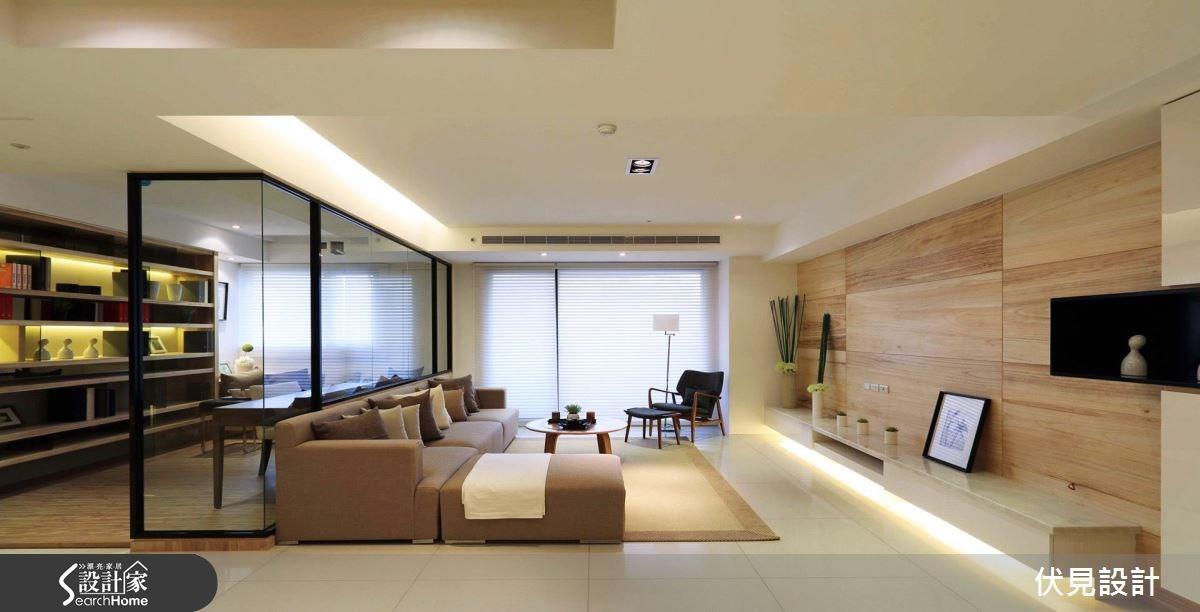 45坪新成屋(5年以下)_北歐風客廳書房案例圖片_伏見設計事業有限公司_伏見_29之1