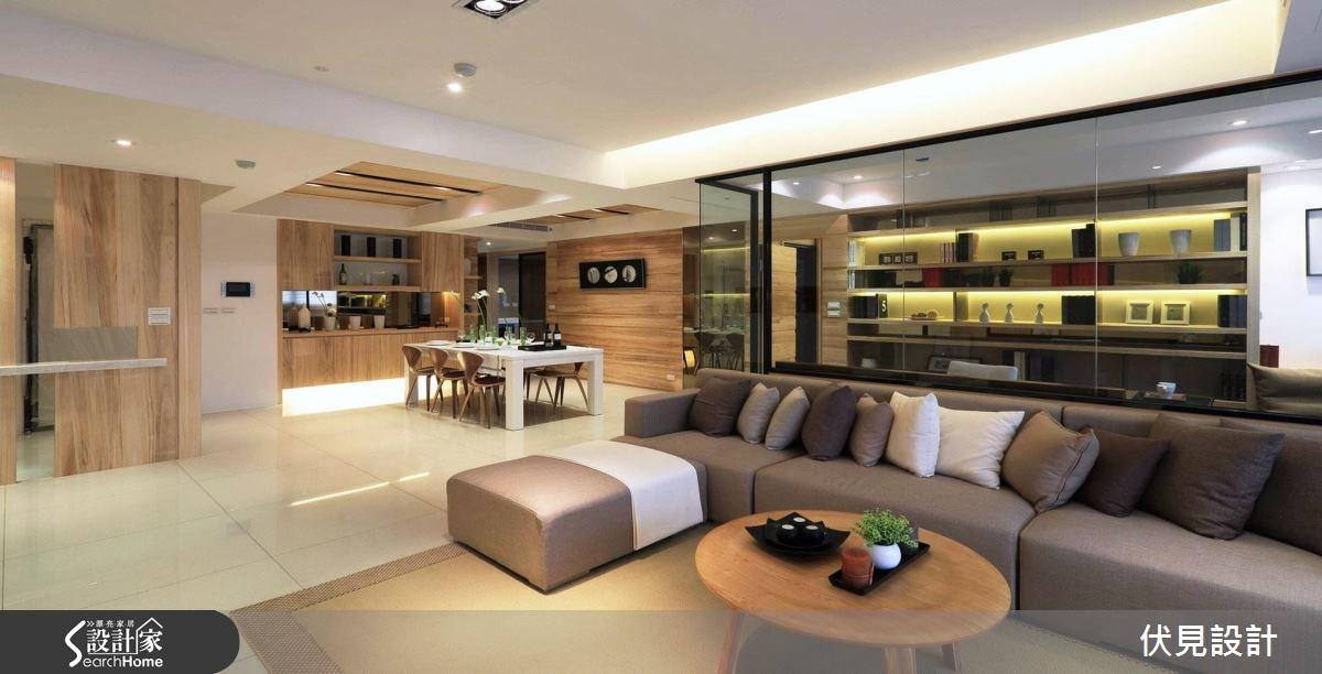 45坪新成屋(5年以下)_北歐風客廳餐廳案例圖片_伏見設計事業有限公司_伏見_29之2