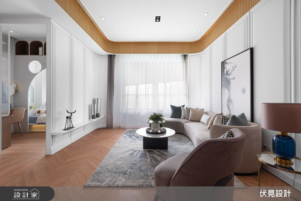 41坪新成屋(5年以下)_美式風案例圖片_伏見設計事業有限公司_伏見_帝國花園之8