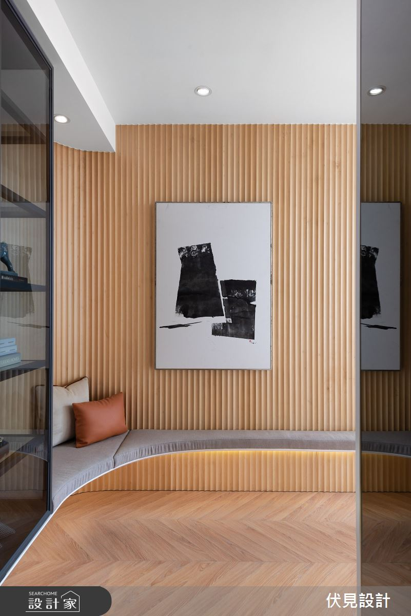 41坪新成屋(5年以下)_美式風案例圖片_伏見設計事業有限公司_伏見_帝國花園之1