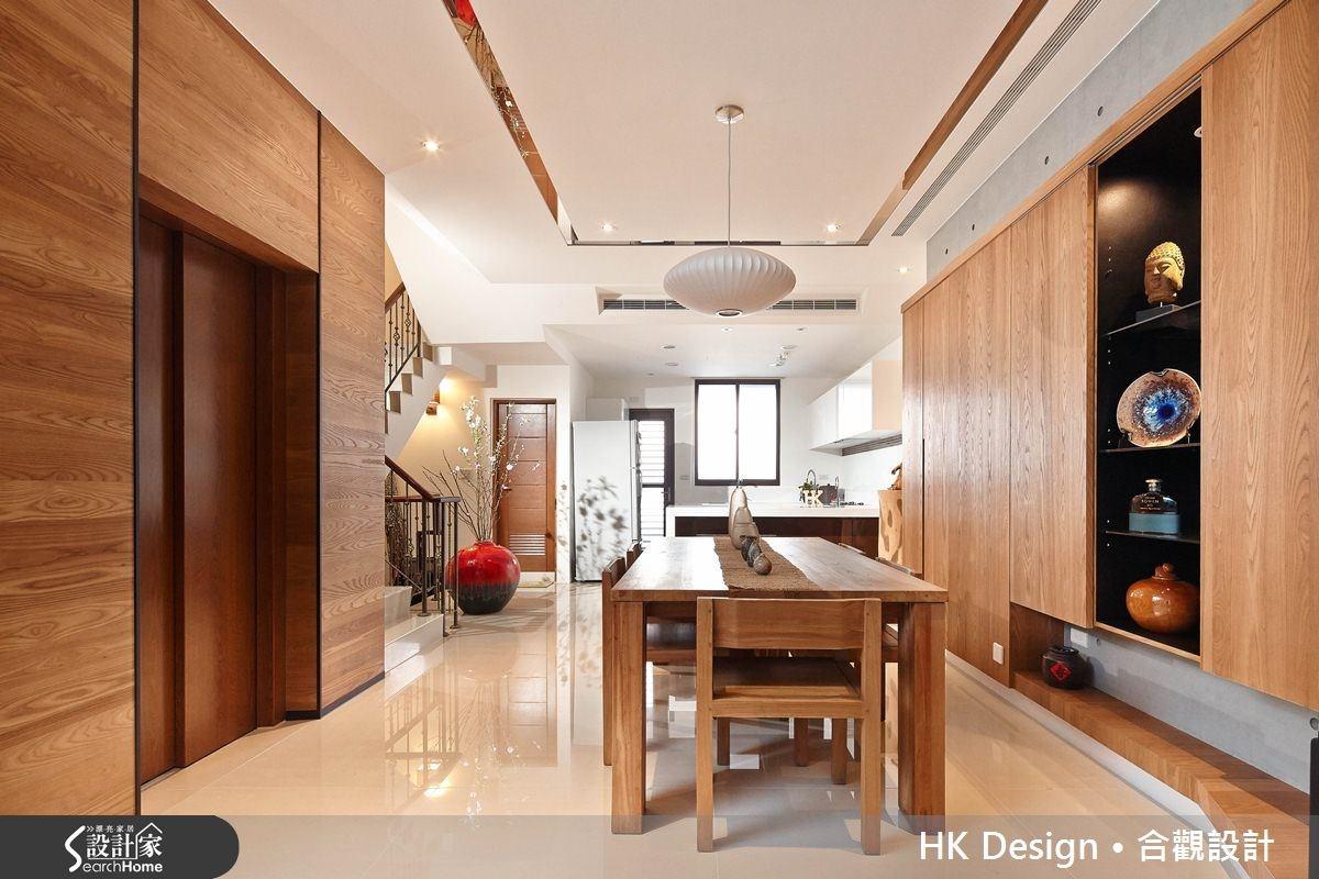 110坪新成屋(5年以下)_混搭風餐廳廚房案例圖片_合觀室內裝修工程股份有限公司_合觀_04之1