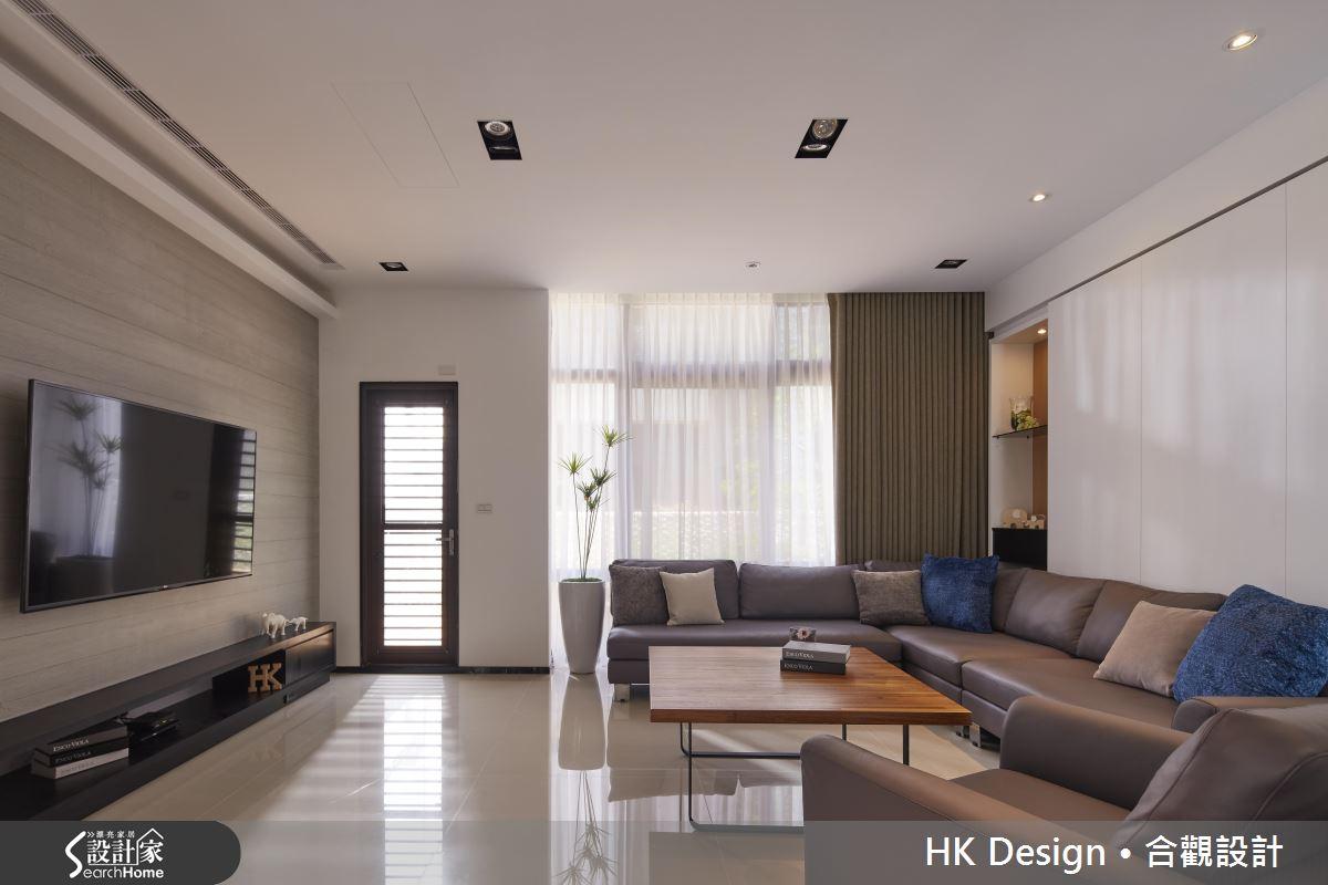 現代風透天厝的完美演出!優雅流暢的大宅設計