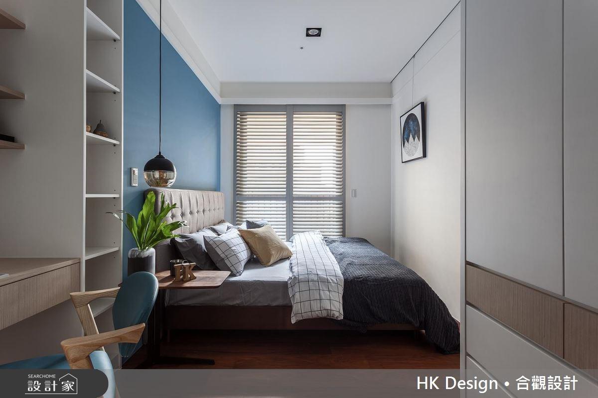 60坪新成屋(5年以下)_現代風臥室案例圖片_合觀室內裝修工程股份有限公司_合觀_09之43