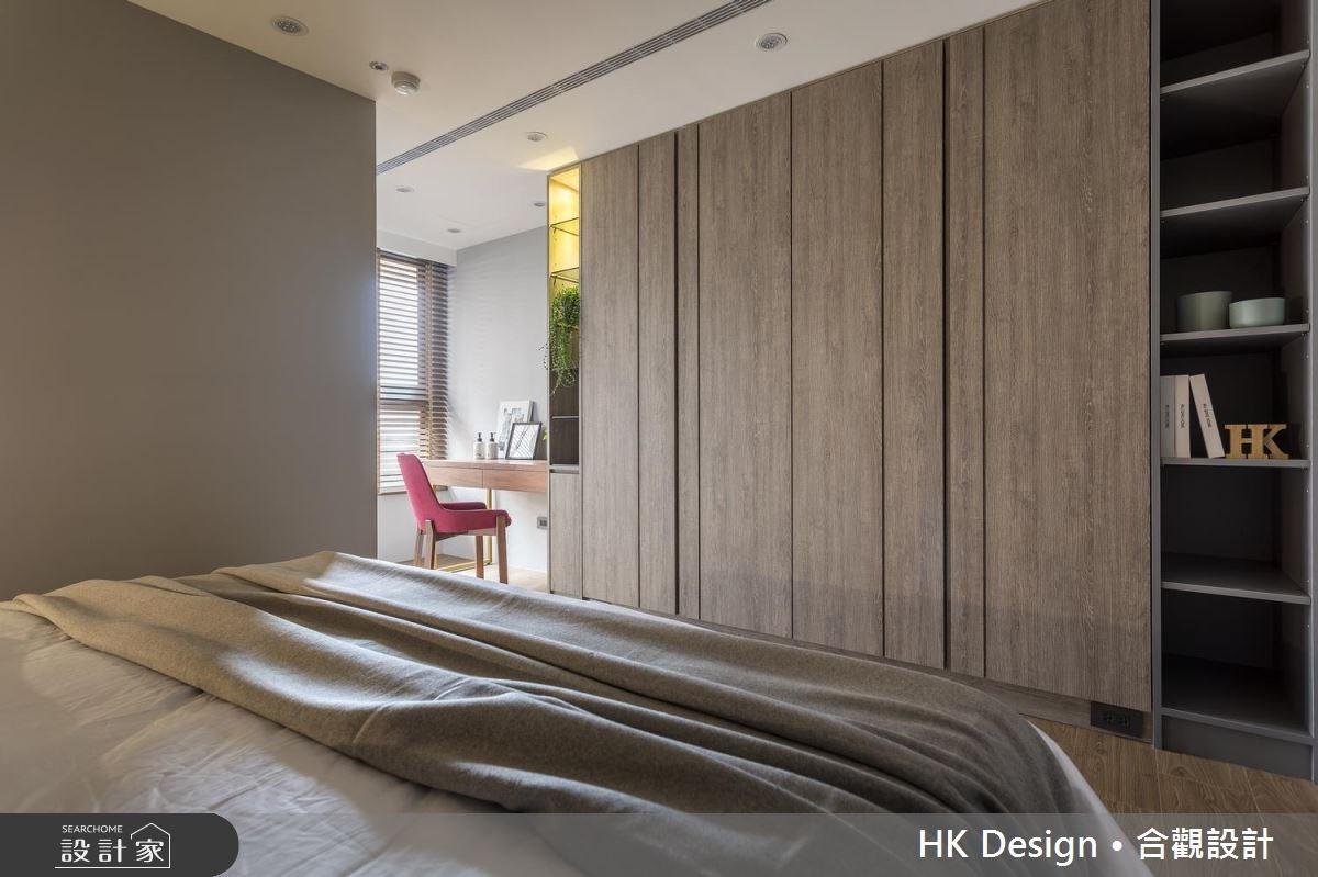 30坪新成屋(5年以下)_現代風臥室案例圖片_合觀室內裝修工程股份有限公司_合觀_14之11