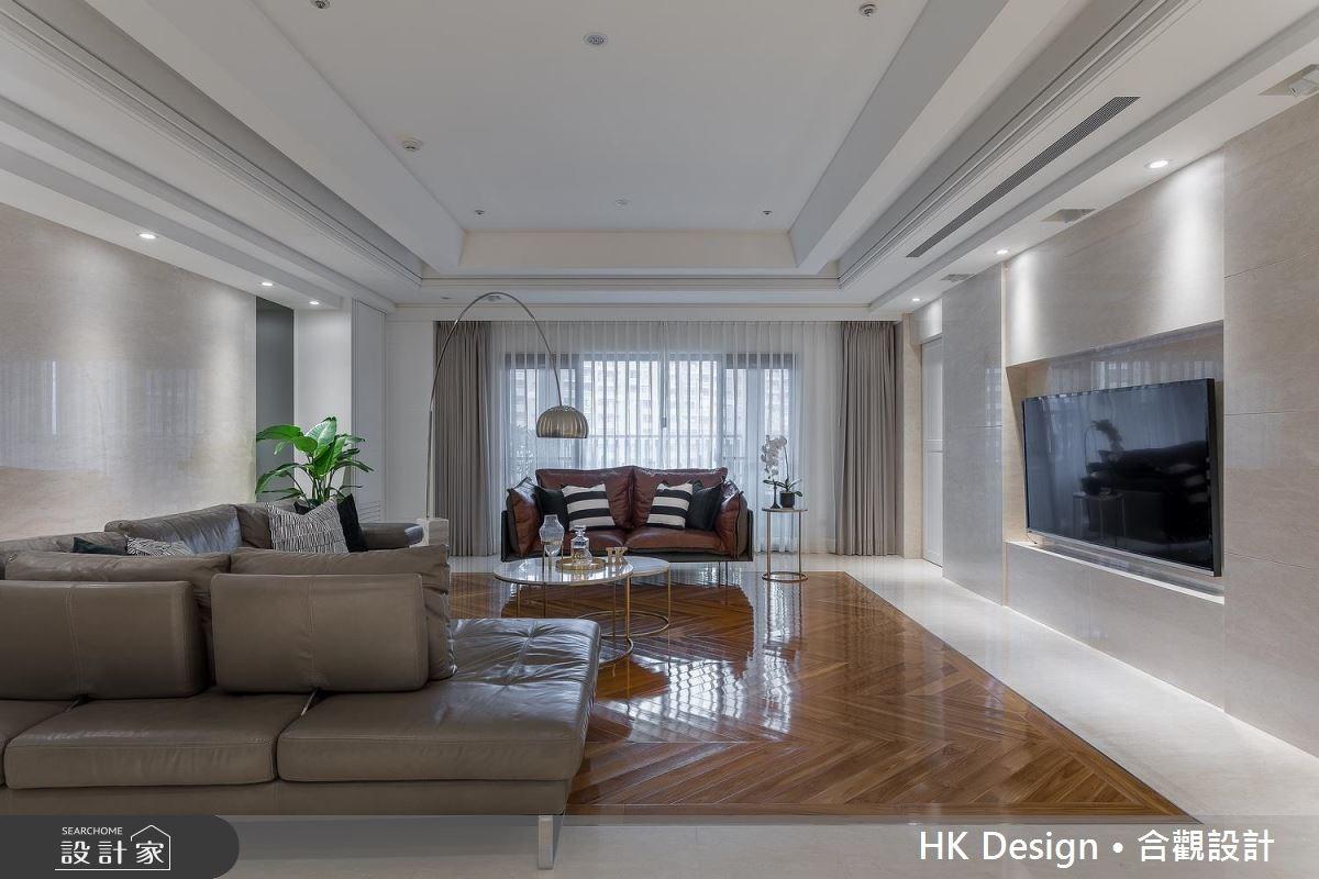 80坪新成屋(5年以下)_美式風客廳案例圖片_合觀室內裝修工程股份有限公司_合觀_16之4