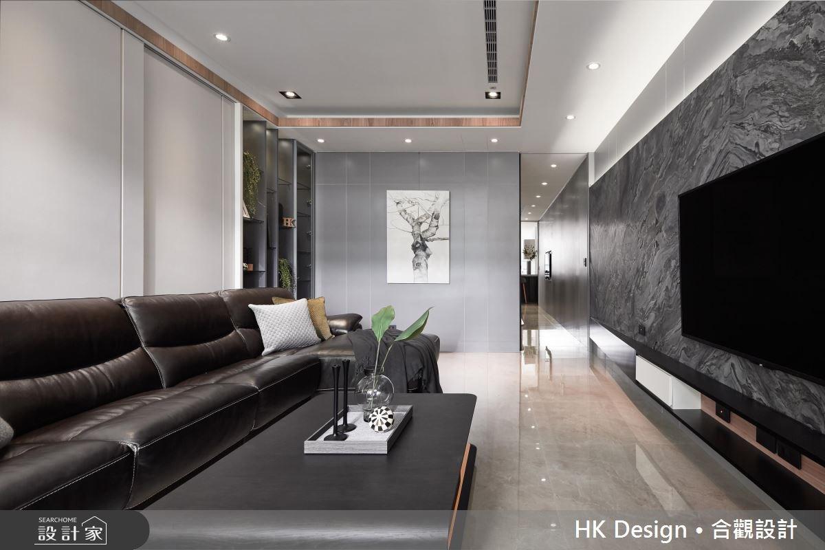 80坪中古屋(5~15年)_現代風客廳案例圖片_合觀室內裝修工程股份有限公司_合觀_17之3