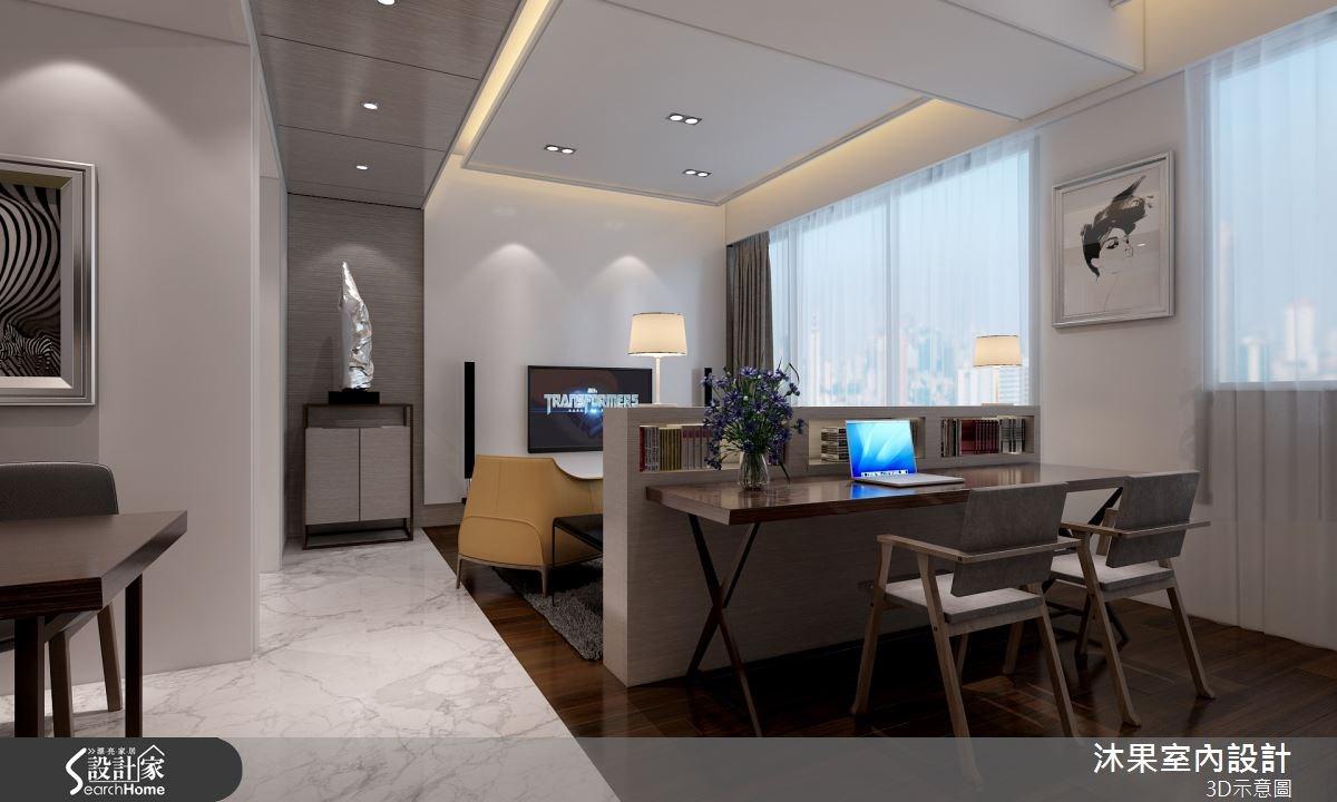 40坪新成屋(5年以下)_現代風客廳案例圖片_沐果室內設計有限公司_沐果_07之2