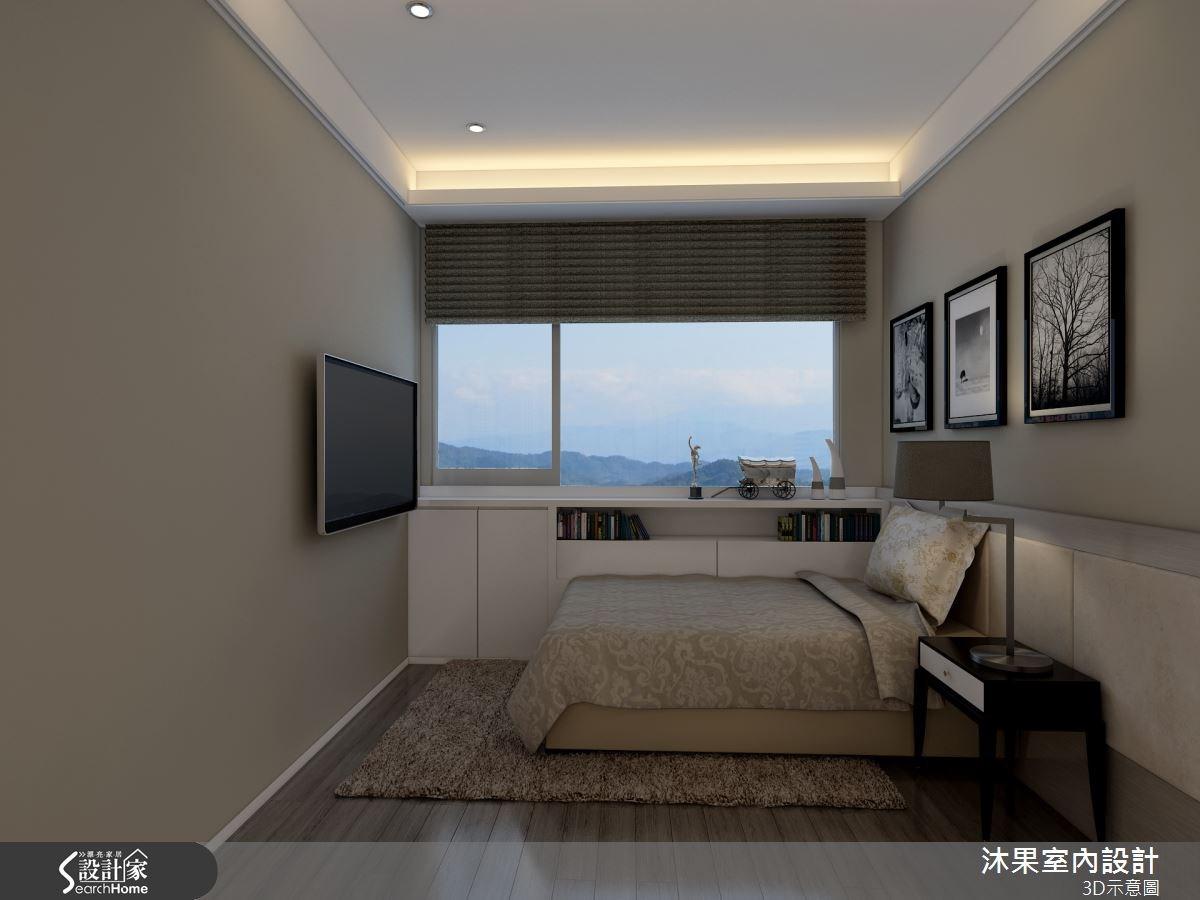 40坪新成屋(5年以下)_現代風臥室案例圖片_沐果室內設計有限公司_沐果_07之4