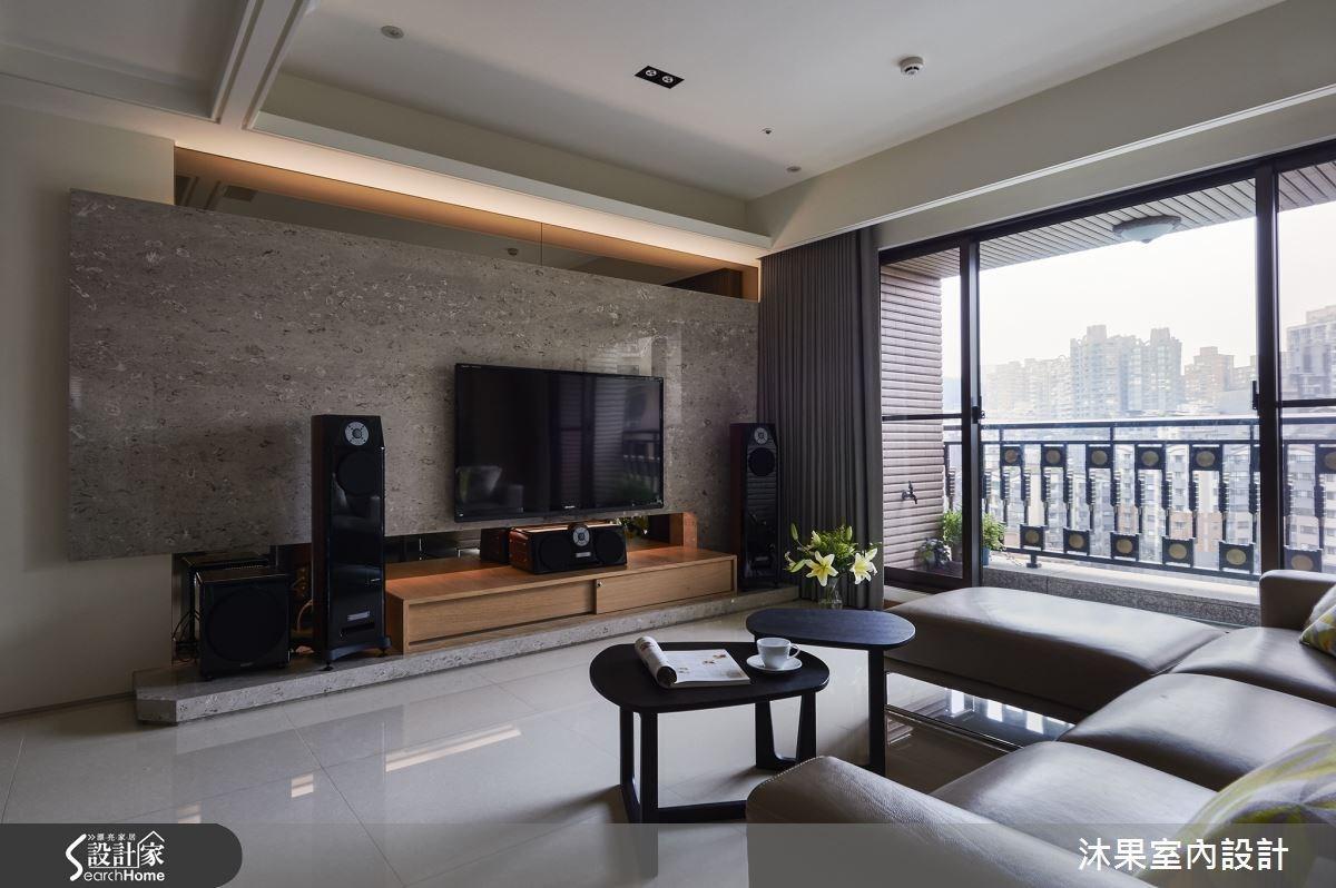 45坪新成屋(5年以下)_現代風客廳案例圖片_沐果室內設計有限公司_沐果_08之1