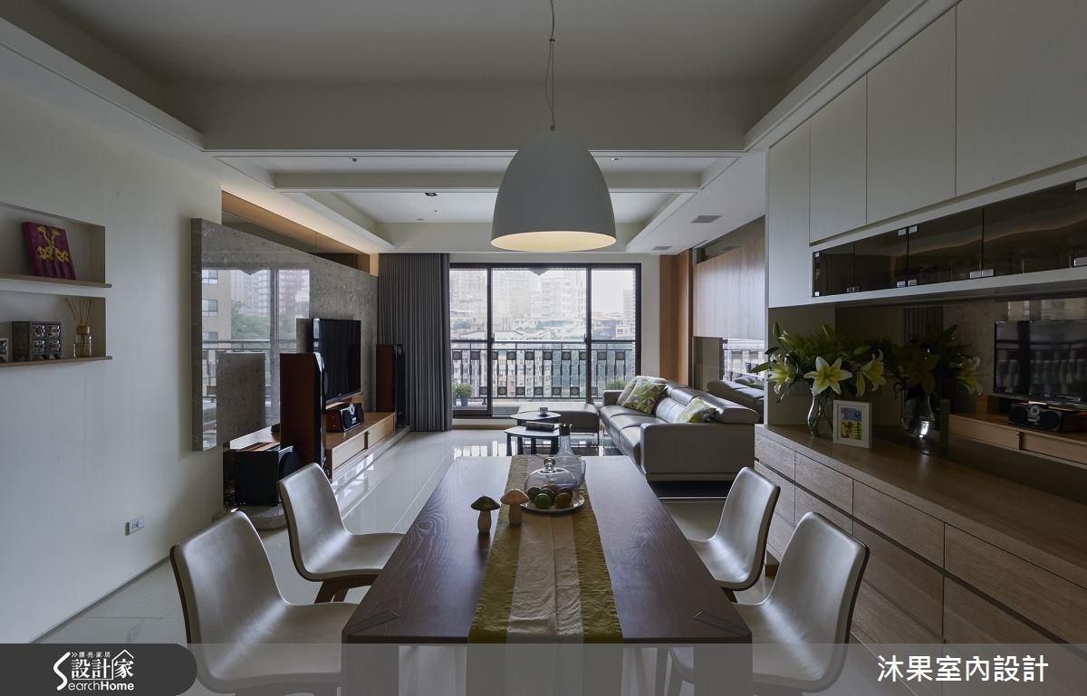 45坪新成屋(5年以下)_現代風客廳餐廳案例圖片_沐果室內設計有限公司_沐果_08之5