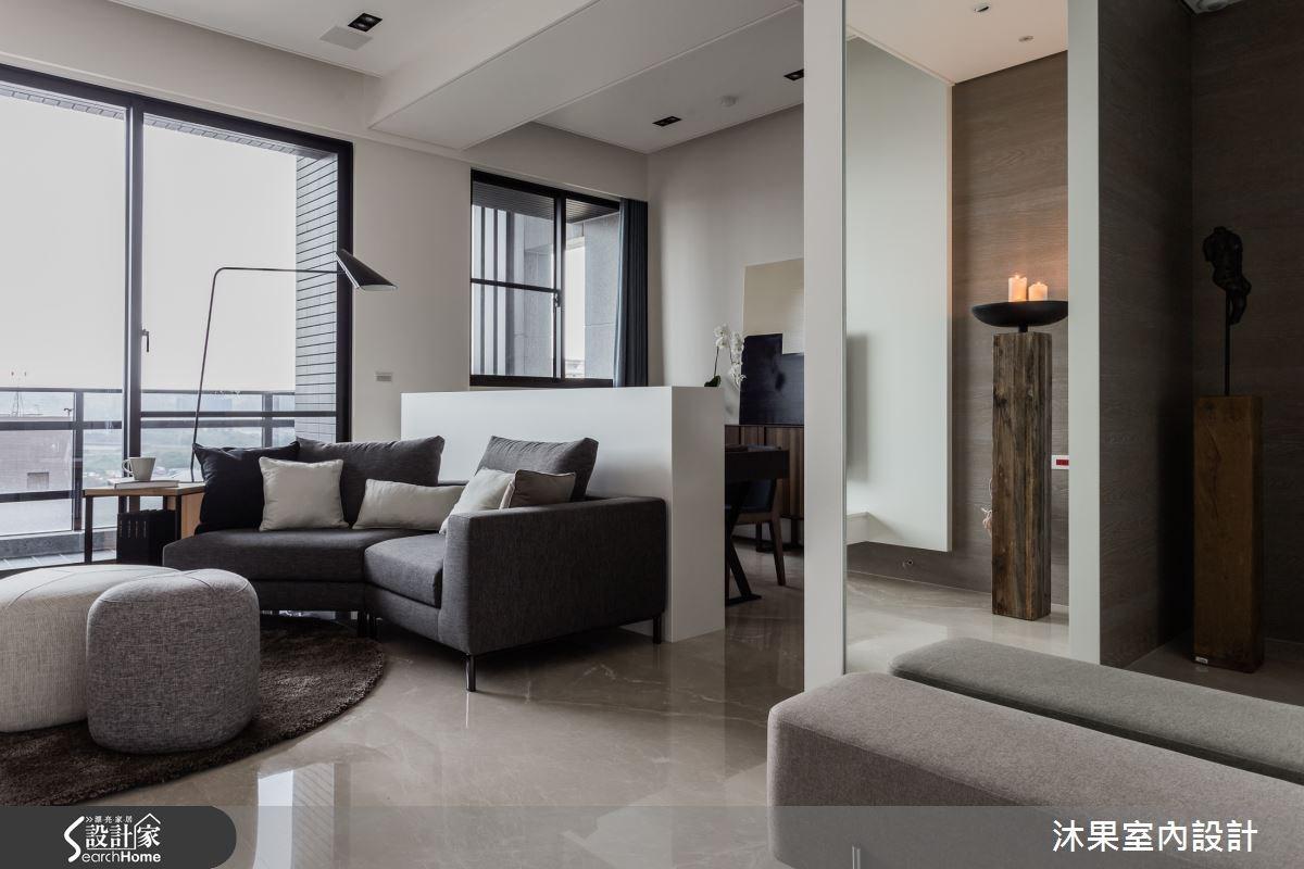 30坪新成屋(5年以下)_現代風客廳案例圖片_沐果室內設計有限公司_沐果_11之1