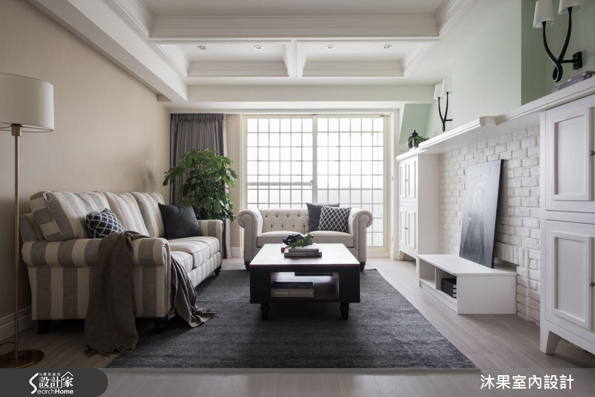 美式風格巧搭工業元素 35坪老屋再展甜美笑顏
