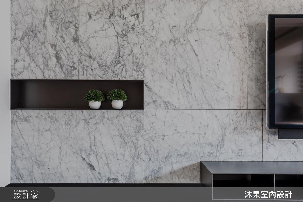 22坪新成屋(5年以下)_現代風客廳案例圖片_沐果室內設計有限公司_沐果_14之4