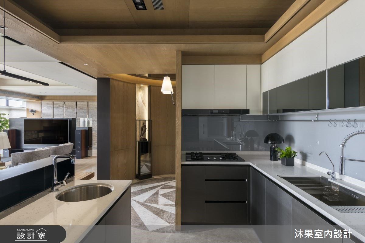 60坪中古屋(5~15年)_現代風廚房案例圖片_沐果室內設計有限公司_沐果_16之4