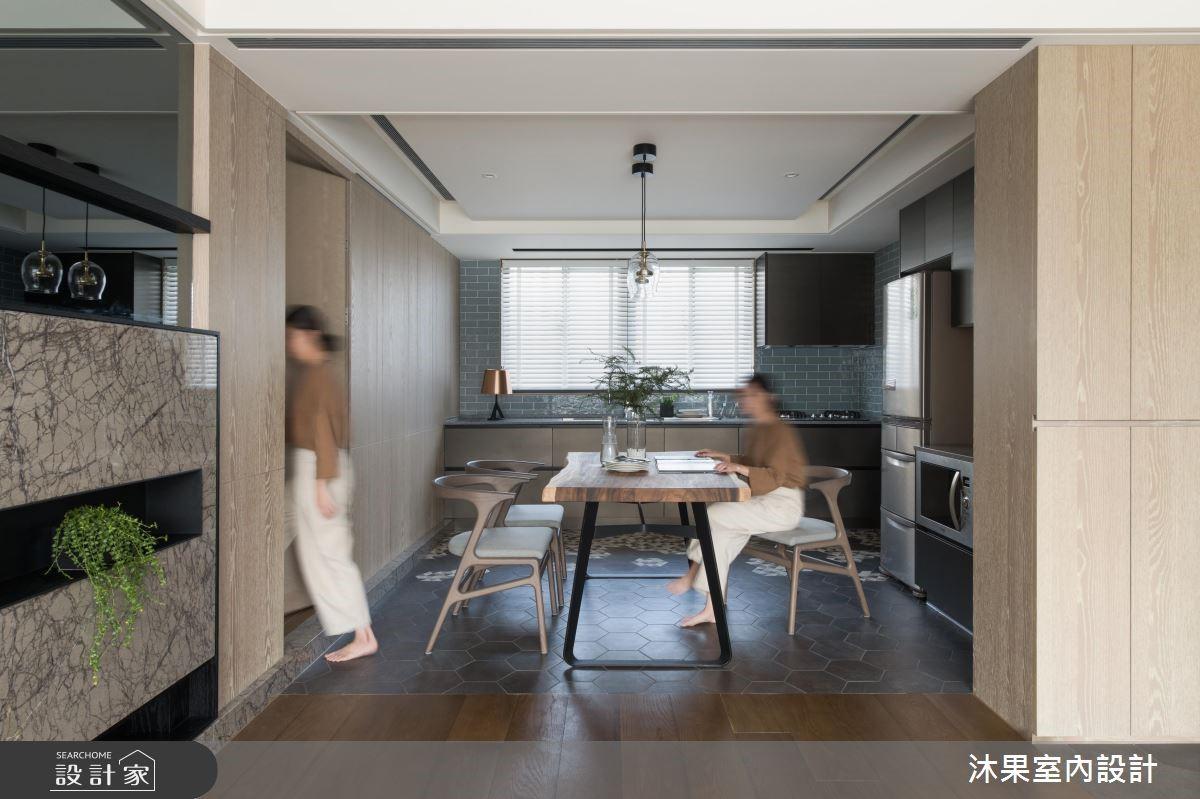 20坪中古屋(5~15年)_現代風餐廳案例圖片_沐果室內設計有限公司_沐果_17之2