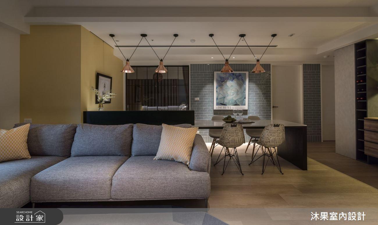 24坪新成屋(5年以下)_現代風客廳案例圖片_沐果室內設計有限公司_沐果_21之6