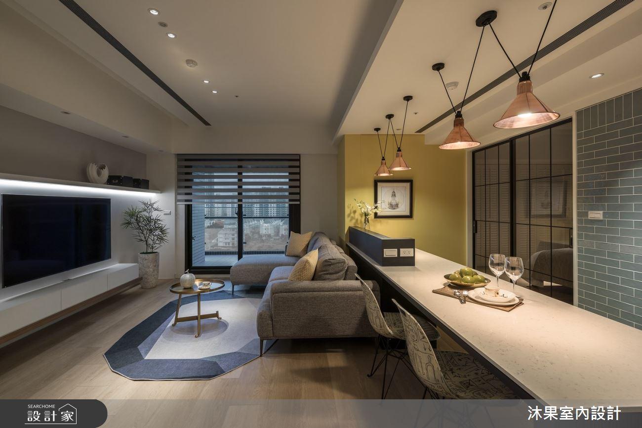 24坪新成屋(5年以下)_現代風客廳餐廳案例圖片_沐果室內設計有限公司_沐果_21之7