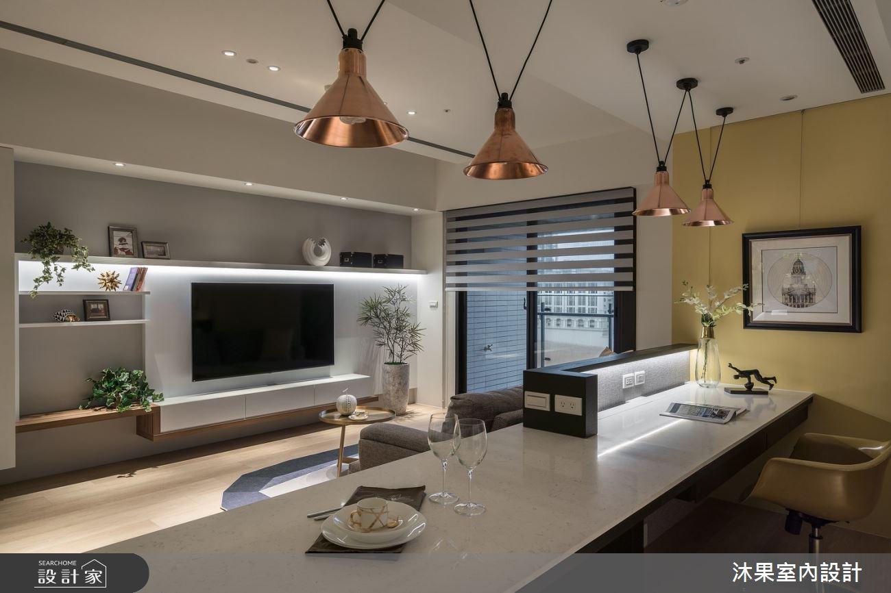 24坪新成屋(5年以下)_現代風客廳餐廳案例圖片_沐果室內設計有限公司_沐果_21之9